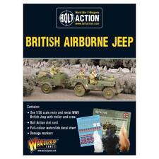 Warlord Games Perno Acción Nuevo Y en Caja British Airborne remolque Jeep & WGB-402411107