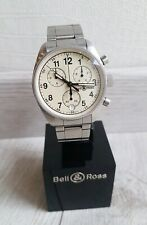 MONTRE BELL & ROSS VINTAGE 120 CHRONOGRAPH +BOITE +CERTIFICAT / MAN WATCH