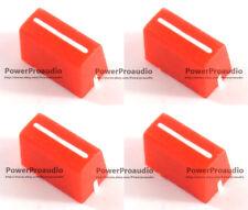 4pcs Channel Crossfader Fader Cap Knob For RANE 57 TTM57 TTM57sl TTM57mk2(RED)