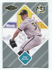 2005 Justifiable Silver RC #20 Joey Devine #/200 Braves