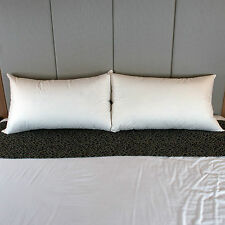 Dyne King Size 100% German Duck Feather Pillow - Firm Support - Australian Made