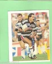 1993 SELECT RUGBY LEAGUE  STICKER - #111  PETER GILL, GOLD COAST SEAGULLS