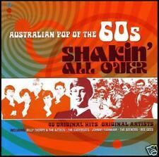 60's (2 CD) SHAKIN' ALL OVER - AUSTRALIAN POP OF THE 60's - Volume 1 *NEW*