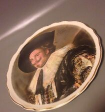 Franz hals laughing cavalier james Kent old foley ceramic wall/cabinet plate