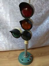 RARE Vintage OLD Soviet USSR Educational traffic light Signal RED Yellow green