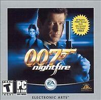 007: Nightfire Jewel Case (PC, 2003)