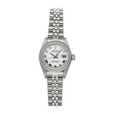 Rolex Datejust Auto 26mm Steel White Gold Ladies Jubilee Bracelet Watch 79174