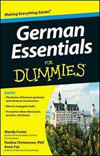 German Essentials For Dummies (For Dummies (Lifestyles Paperback)) by Wendy Fost