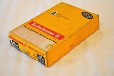 Vintage Kodachrome II Color 16mm Movie Camera Film 1963