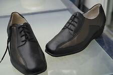 WALDLÄUFER Damen Comfort Schuhe Schnürschuhe Leder Einlagen bequem Gr.4,5 H 37,5