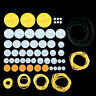 2mm Hole Plastic Belt Pulley Gears Combination Modulus Package Rubber Belts Band
