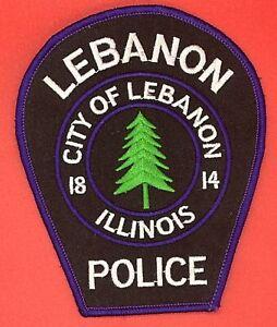 Lebanon Illinois Police Patch