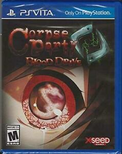 Corpse Party: Blood Drive [Sony PlayStation PS Vita Chibi Horror Mystery] NEW