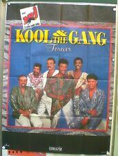 KOOL & THE GANG – « FOREVER » - ORIGINAL POSTER (120x160) - VERY RARE - 1986