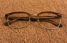 Vintage Perry Ellis Eyeglass Frames EyeWear Pe2 plus Case Tortoise and gold