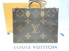 Louis Vuitton M44576 OnTheGo Reversible Tote Bag - Brown
