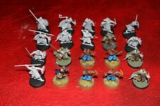 Warhammer Lord of the Ring Warriors of Rohan x20 (unpainted + painted) plastic