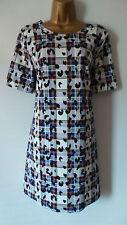 Papaya Short Sleeve Tunic Dresses for Women