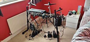 Alesis DM5 Electric Drum Kit (Twin Kick) and Staag EDA 40 Drum Amp