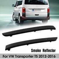 Paar Stoßstange Reflektor Rückstrahler Lichtscheibe Smoked Für VW T5  # <