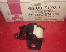 CERRADURA PORTON TRASERO CITROEN ZX CAUTEX 650371701 . NUEVA