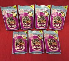Whiskas Kitten Milky Treats 7x 55g Rich In Milk Supports Bones 8+ Wk Old Calcium