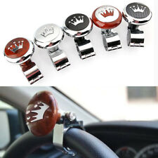 Crown Hickory Car Auto Lorry Steering Wheel Suicide Spinner Handle Knob Booster