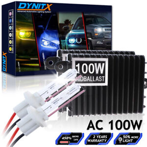 HID Xenon Conversion KIT Bulb HIgh Low Beam Fog Lights 55W 75W 100W 150W 6K 8K