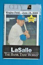 BILLY WILLIAMS 2002 Ballpark Giveaway Card Wrigley Field Cubs ORIGINAL BAG SGA