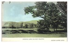 Intervale Ledge and Moat Mountain, NH Hand-Colored Postcard *244