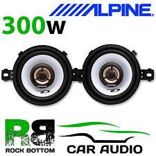 "ALPINE VW GOLF MK2 1983 - 1992 3.5"" 8.7cm 2 way 300 Watts Top Dash Car Speakers"
