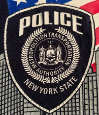 NYPD New York City Police Department NYC T-Shirt Sz XL MTA PD NYS WTC 9/11