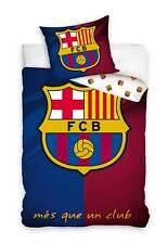 FC Barcelona Bettwäsche Wendebettwäsche Bettware Bettzeug Fussball Barca 135x200