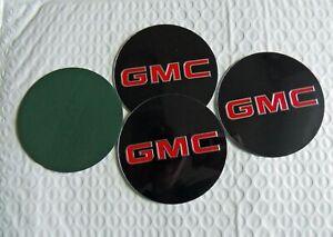 NEW for GMC™ 1500,2500,3500 -4 Piece Wheel Center Cap Logo Emblem Set  Free Ship