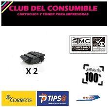 2 X CE255X NEGRO C Nº55X CANON 724H NO OEM PARA HP 500 MFP M525 500 MFP M525C