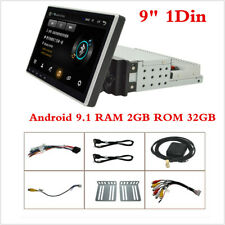 """HD 9"""" Touch Screen Android 9.1 Stereo Radio Quad-core RAM 2GB ROM 32GB GPS WiFi"""