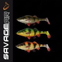 Savage Gear 4D Perch Shad 12,5cm - 23g NEW ,lure,percy the perch,line thru,cast