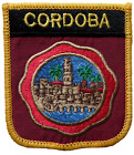 Cordoba Spain Shield Embroidered Patch
