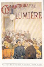 LYON carte postale affiche du 20ème siècle cinématographe Lumière