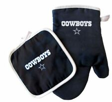 Dallas Cowboys Oven Mitt & Pot Holder Set Tailgate Barbecue Tailgating NFL