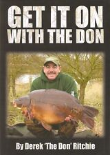 RITCHIE DEREK FISHING BOOK GET IT ON WITH THE DON Big Carp Hunters BARGAIN new