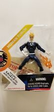 """MARVEL UNIVERSE 3.3/4"""" HUMAN TORCH FIGURE #011 A"""