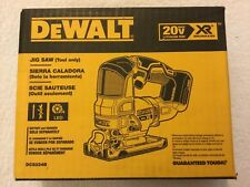 New Dewalt DCS334B 20 Volt 20V Max XR Brushless Cordless Jig Saw (Bare Tool) NIB