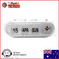GMH Retro Capsule Manual Alarm Clock (White)