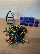 Magnetspiel Konstruktionsspiel Kugeln Stäbe bunt mit Wandmodulen für Häuser