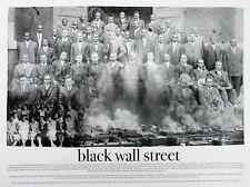Black Wall Street Poster Photo Art Print African American History (18x24)