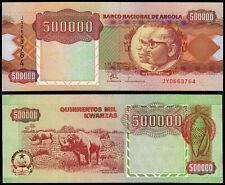 ANGOLA 500000 KWANZAS (P134) 1991 UNC
