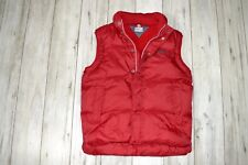 TOMMY HILFIGER RED MEN'S GILET SLEEVELESS _size L large