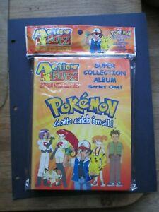Pokemon Lenticular Full Album Series 1 Action Flipz RARE