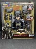 Metals Die Cast Armored Batman 2016 NIB Jada Toys Action Figure Light Up